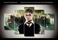 Wholesale Famous canvas wall arts of Harry Potter as a good gift for childrens room decoration new style
