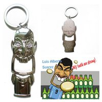 beer bottle image - World Cup Suarez Bottle Opener With Key Chain Design Vivid Humor Bite Image All metal Suarez Key Chain Bite Open Beer Opener