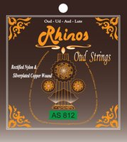 Wholesale Rhinos AS812 Oud String High Quality Special Silverplated Copper Wound