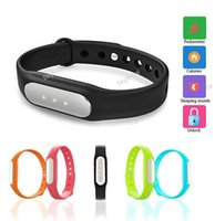 Wholesale 2015 Wearable Xiaomi Bracelet Xiaomi MI Smart Wireless Bluetooth Healthy Sports Miband Bracelets for Xiaomi MI3 MI4 RED MI iphone