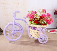 basket making cane - Wedding party Decorations cute the cane makes up tricycles vases flower baskets photo booth props new style