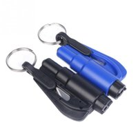 Wholesale Car Auto Emergency Safety Hammer Belt Window Breaker Key Chain Escape Tools New