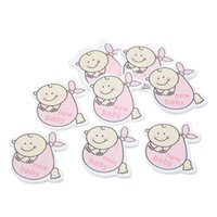 baby craft patterns - 2015 small wooden crafts Wooden Pink Baby Pattern Craft Scrapbooking Embellishments x31mm
