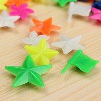 Wholesale FS Hot Bike child Wheel Spoke colourful decoration Plastic bead star order lt no track