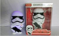 LED DHL Star Wars Action Figures 2016 Version Q Dath Stormtrooper poupée contact avec son et lumière électronique Jouets cadeaux aux enfants encadrés C294
