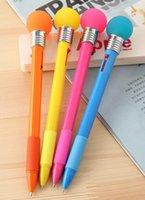 beat cans - 5 pieces per Beat It Can Light Bulb Shape Luxury Pen For School Kawaii School Supplies Multifunction Ballpoint Pen Cute