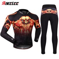 bicycle jersey design - new design Eagle Speed Autumn Long Sleeve Cycling Jersey Jacket Pants Bicycle Bike Ciclismo clothing culotes men set kits