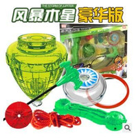 Wholesale Planet big turn yo yo battle Gyro Gyro suits Magic fly ball boy children s toys