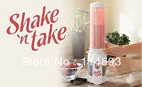Wholesale Shake n DHL Take fruit juice machine mini juicing multi function mixer a cup drink ice sand machine