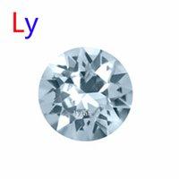 aquamarine march birthstone - March Aquamarine Crystal Birthstone mm round crystal floating locket charm Fit Living memory floating living locket MFC1514