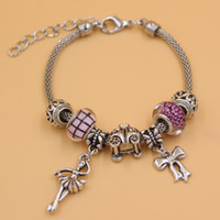 ballet dance gifts - New Arrival Charm Bracelet European Bead PDR Charm Hallow Bead Bowknot Dance Ballet Ballerina Charm Bracelets