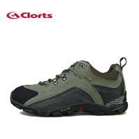 approaching men - Clorts Men Approach Shoes New Outdoor Hiking Shoes Boots Waterproof Climbing Trekking Shoes D001A
