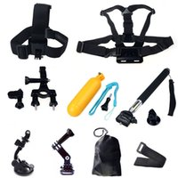gopro accessories - GoPro Accessories Outdoor Sports Bundle Kit for parts Suit combination GoPro Hero Cameras and sj4000 sj5000 cameras