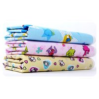Wholesale New Cotton Baby Infant Travel Home Waterproof Urine Mat Cover Burp Changing Pad Drop Shipping