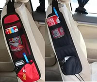Wholesale Car Seat Organiser Storage Bags Phone Magazine Drinks Container Auto Styling Traveling Gear Stuff Accessories Supplies Products TY1180