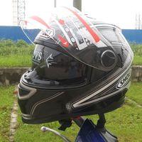 atv safety - SHOEI motorcycle helmet full helmet Motorcycle Helmet ATV helmet Safety dual lens green