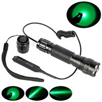 Wholesale High Quality Ultrafire B Green Light XPE LED Max Lumen Flashlight WF B Torch Remote Control Pressure Switch Controller