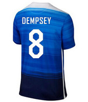 season - Thai Quality Customized new USA Team Jerseys Blue DEMPSEY Yedlin ALTIDORE Tim Howard Football Shirts tops Season Soccer Jerseys