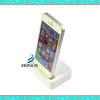 audio docking station - High quality Charger Dock Station with mm Audio Jack for iPhone G S C