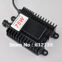 achat en gros de ampoule 75w h3-12V 75W AC HID Xenon Remplacement Ballast électronique de conversion numérique pour H1 H3 H4-1 H7 H11 H13 Bulb Vente en gros