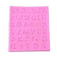 alphabet moulds cake decorating - New Durable Silicone Alphabet Letters Numbers Fondant Sugar Mould Cake Decorating For Children Kitchen
