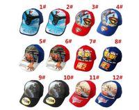 batman cap sale - hot sale Children Hat Cotton Cartoon SpiderMan Cars SuperMan BatMan Print Cap Girls Boys Sun Hat Baseball Cap Spring