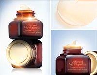 Wholesale 50pcs Famous Brand Anti Puffiness Dark Circle Anti Aging Moisturizing eye cream Advanced Night Repair Eye cream ml