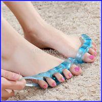 Wholesale Gel Toe Separators Straighteners Bunion Pain Relief pair