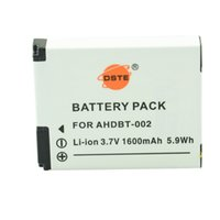 Cheap Accessories Parts Digital Batteries DSTE 2pcs AHDBT-002 Li-ion Battery Travel and Car Charger For gopro HD Hero1 Camera