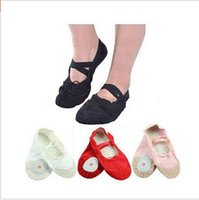Wholesale Ballet shoes Size4 cm children soft sole girls ballet shoes Women Ballet Dance Shoes for kids adults ladies