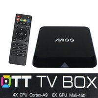 Cheap Quad Core M8S KODI 14.2 H.265 Best Included 1920*1080 Full HD 4K Smart TV Box