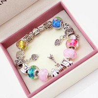 chamilia beads - 925 Silver European Style Charm Chamilia DIY Bracelets For Girls Fashion Jewellery For Christmas Gift