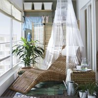 Wholesale Contracted Baby Hang Ikea Bed Nets Baby Mosquito Net Baby Toddler Bed Crib Canopy Netting White Mosquitera