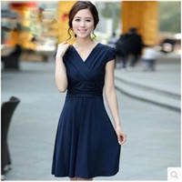 silk clothes - New Summer Women s Clothing han edition Silk Summer Dress Fat MM Dress Plus Size Charge Show Thin Casual Dress