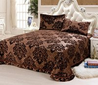 Wholesale 2016 Hot Sale Rushed Set Pieces Full Duvet Cover Bed Sheet Comfortable And Soft Elegant Pleuche Reactive Print piece Bed In A Bag