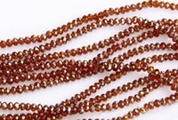 amber beads - AB amber crystal beads Swarovski crystal beads Crystal Gemstone Loose Beads facted crytal beads