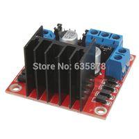Cheap 2pcs lot L298N for DC Stepper Motor Driver Module Controller Board Dual H Bridge for Arduino New