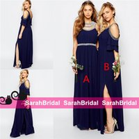 alternative siding - 2016 Spring Bridesmaid Dresses for Alternative Garden Beach Maid of Honors Sale Cheap Long Maxi Different Styles Boho Bridal Party Gown Wear
