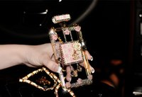 bling cell phone case - S6 cases Iphone s case iphone plus cell phone case Luxury Diamond Bling perfume bottle case for iphone s drop shipping