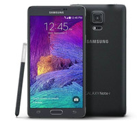Wholesale Original Samsung Galaxy Note Note4 N910A quot x G Ram GB Rom Quad Core G LTE Cell Phone Refurbished