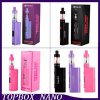 Nueva Kang Topbox Nano arranque clon Kit Kangertech 60w TC Caja Mod Kit TOPTANK Nano 3,2 ml VS JOYTECH Evic VTC Kit 0266050-2