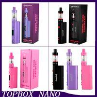 Precio de Evic joytech-Nueva Kang Topbox Nano arranque clon Kit Kangertech 60w TC Caja Mod Kit TOPTANK Nano 3,2 ml VS <b>JOYTECH Evic</b> VTC Kit 0266050-2