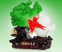 crafts and gifts - Jade cabbage furnishing articles in plutus fortunes Arts and crafts decoration home decoration Arts Crafts Gifts