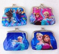 disney wholesale - New Frozen Fashion cartoon purse kids Disney Christmas gift variety of styles