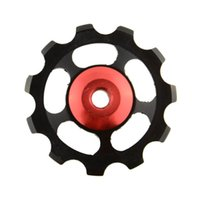 Wholesale MTB Road Bike Cycling Jockey Wheel Part Rear Mech Derailleur Pulley T Aluminium Alloy Useful