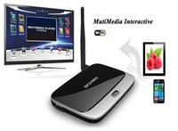 Wholesale Full HD P Q7 MK888 CS918 G G Amlogic S805 Quad Core Android XBMC WiFi Smart TV Box Android TV Receiver Mini PC