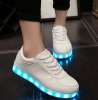 led lawn light - 2016 NEW Led Luminous Shoes COLORS Casual Shoes Led Shoes For Women Men Fashion LED Lights Up Shoe For Adult Chaussure Lumineuse