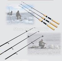 Wholesale New Arrival M Mini Telescopic Ice Fishing Rod Carbon Pole Winter Fishing Tackle Tool Ultra light g