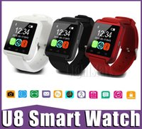 Android alarm control box - 2016 For iPhone6 U8 Smart Watch Smartwatch with Phonebook Call MP3 Alarm S For Samsung S5 NOTE with retail box S6 EDGE