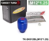 Wholesale Tansky NEW BLUE SPEED M12x1 SHIFT KNOB FOR ACURA HONDA CIVIC INTEGRA TK SK012BL M12x1